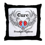 Cure Prostate Cancer Throw Pillow