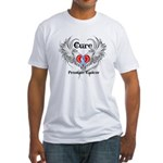 Cure Prostate Cancer Fitted T-Shirt