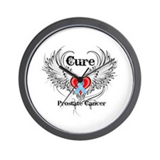Cure Prostate Cancer Wall Clock