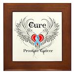 Cure Prostate Cancer Framed Tile