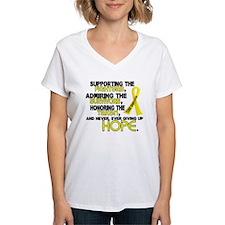© Supporting Admiring 3.2 Sarcoma Shirts Shirt