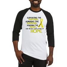 © Supporting Admiring 3.2 Sarcoma Shirts Baseball