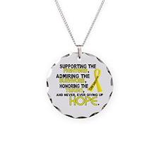 © Supporting Admiring 3.2 Sarcoma Shirts Necklace