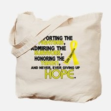 © Supporting Admiring 3.2 Sarcoma Shirts Tote Bag