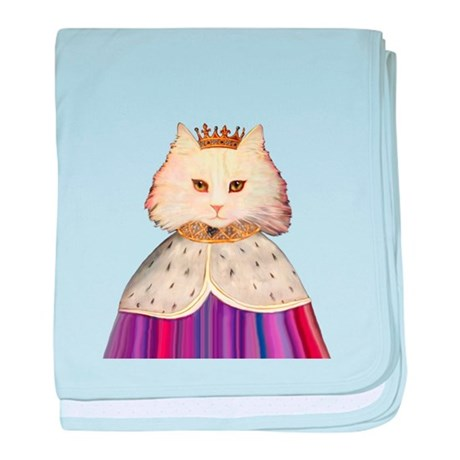 King of Cats baby blanket