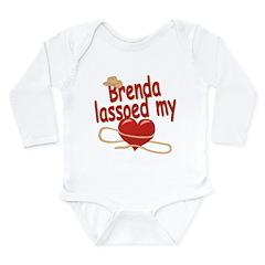 Brenda Lassoed My Heart Long Sleeve Infant Bodysui