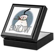 Primsical Snowman Keepsake Box