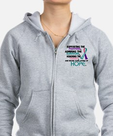 © Supporting Admiring 3.2 Thyroid Cancer Shirts Wo