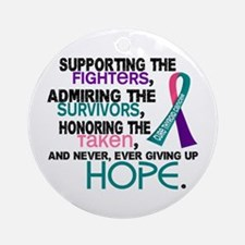 © Supporting Admiring 3.2 Thyroid Cancer Shirts Or