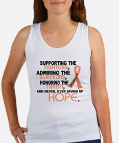 © Supporting Admiring 3.2 Uterine Cancer Shirts Wo