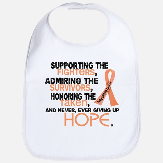 © Supporting Admiring 3.2 Uterine Cancer Shirts Bi