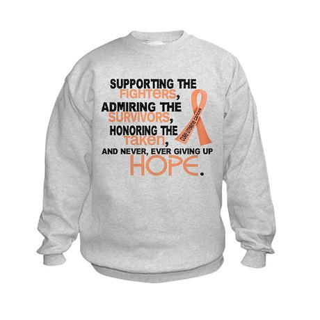 © Supporting Admiring 3.2 Uterine Cancer Shirts Ki