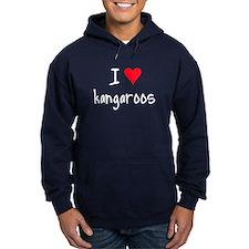 I LOVE Kangaroos Hoodie