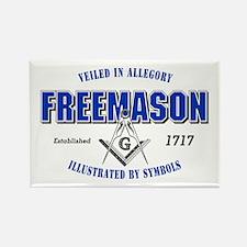Masonic Collegiate Rectangle Magnet