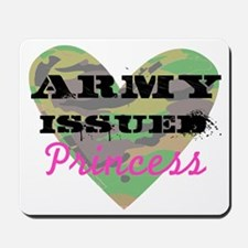 Army Issued Princess Mousepad