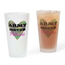 Army Issued Princess Drinking Glass