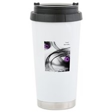 Funny Spunki domestic violence awareness Travel Mug