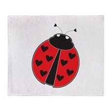 Lady Bug Throw Blanket
