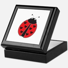 Lady Bug Keepsake Box