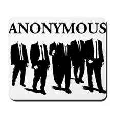 Anonymous Suits 3 Mousepad
