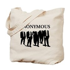 Anonymous Suits 3 Tote Bag