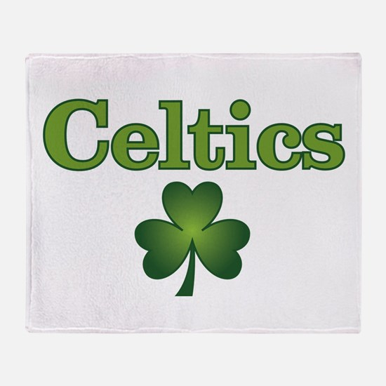 Celtics Throw Blanket