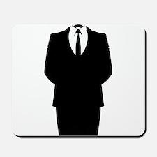 Anonymous Suit Mousepad