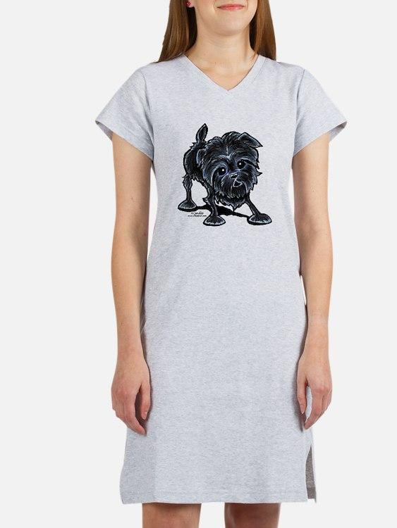 Affenpinscher Lover Women's Nightshirt