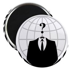"Anonymous Seal 2 2.25"" Magnet (10 pack)"