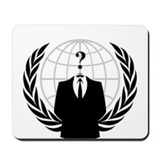 Anonymous Seal 2 Mousepad