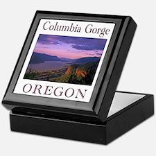 Unique Oregon Keepsake Box