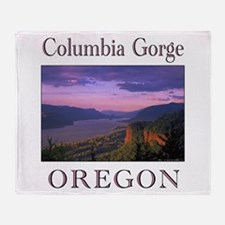 Funny Oregon Throw Blanket