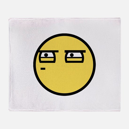 Skeptical Throw Blanket