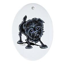 Affenpinscher Lover Ornament (Oval)