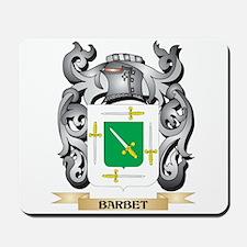 Barbet Family Crest - Barbet Coat of Arm Mousepad