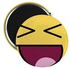 "Awesome Face Laugh 2.25"" Magnet (10 pack)"