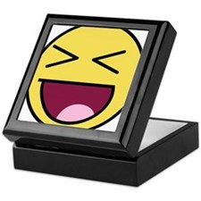 Awesome Face Laugh Keepsake Box