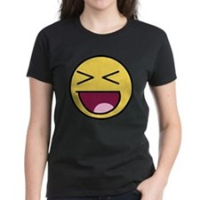 Awesome Face Laugh Tee