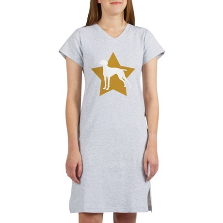 vizsla star Women's Nightshirt