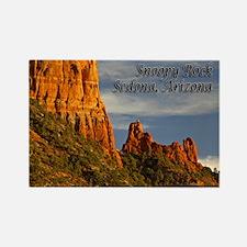 Snoopy Rock, Sedona, AZ Rectangle Magnet