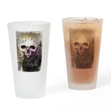 Unique Raven tattoo Drinking Glass