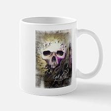 Unique Raven skull Mug