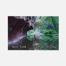 West Fork, Sedona, AZ Rectangle Magnet