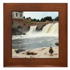 At The Falls 1 Framed Tile