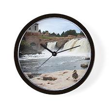 At The Falls 1 Wall Clock