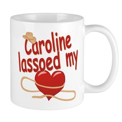 Caroline Lassoed My Heart Mug