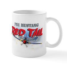 P51 Mustang Red Tail Mug