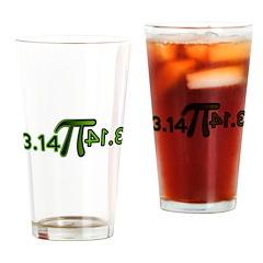 Pi 3.14 Drinking Glass
