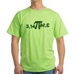 Pi 3.14 Green T-Shirt