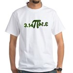 Pi 3.14 White T-Shirt